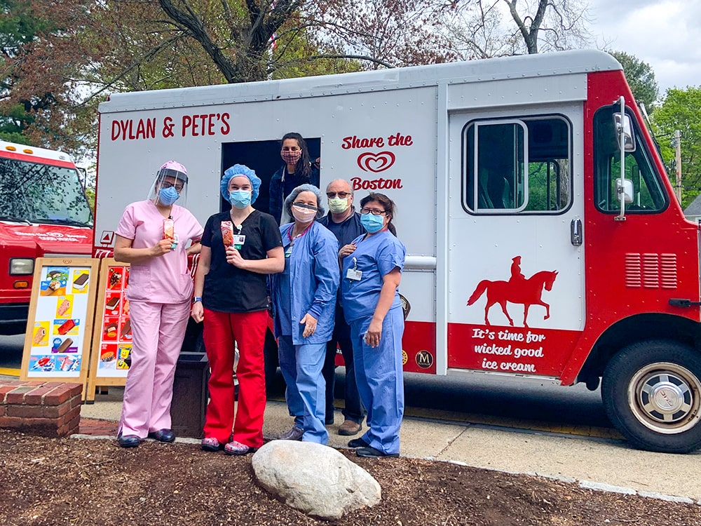 Dylan & Pete's Healthcare Workers