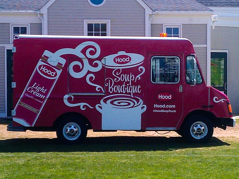 Hood Branded Truck Soup Truck-min