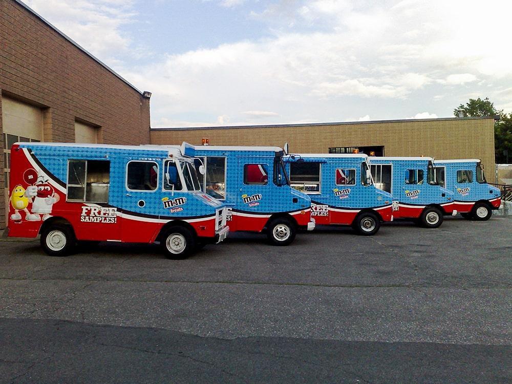 M&Ms Branded Truck Fleet-min