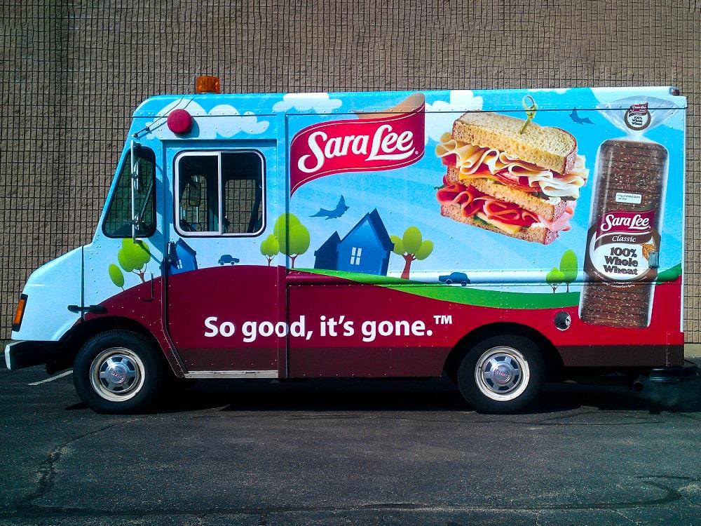 Sara Lee Branded Truck Ice Cream Truck-min
